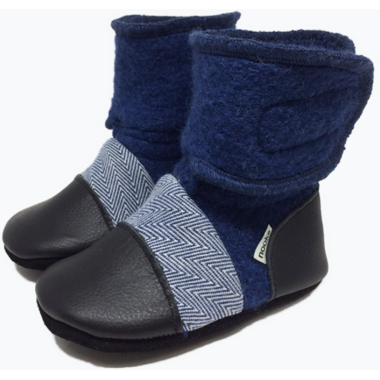 Nooks Design Booties Deep Sea 6-18M