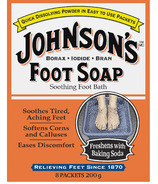Johnson's Foot Soap