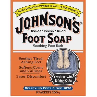 Johnson\'s Foot Soap