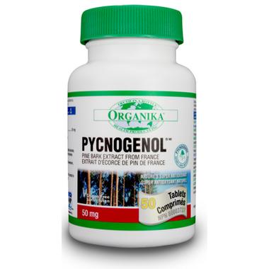 Organika Pycnogenol Pine Bark Extract