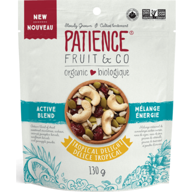 Patience Fruit & Co. Organic Active Blend Tropical Delight Pouch