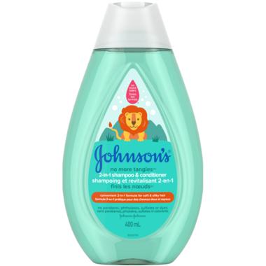 Johnson\'s No More Tangles 2-in-1 Shampoo & Conditioner