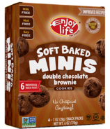 Enjoy Life Mini Soft Baked Cookies Double Chocolate Brownie