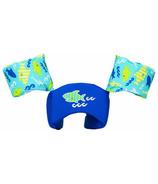 SwimWays Sea Squirts Swim Trainer Life Jacket Blue