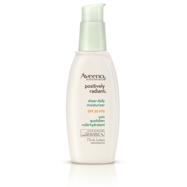 Aveeno Face Positively Radiant Sheer Daily Moisturizer