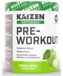 Kaizen Naturals Pre-Workout Green Apple