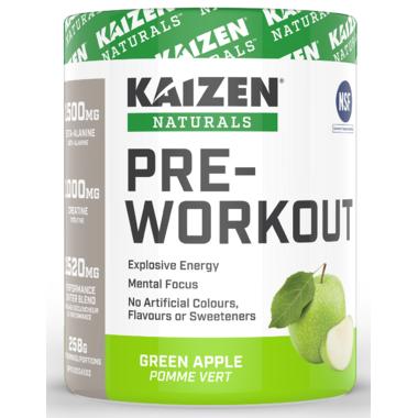 Kaizen Naturals Pre-Workout Green Apple