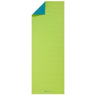 Gaiam Classic Reversible Yoga Mat Sea Breeze