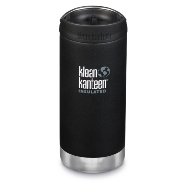 Klean Kanteen TKWide With Cafe Cap Shale Black