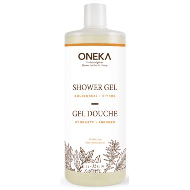 Oneka Goldenseal & Citrus Shower Gel Large