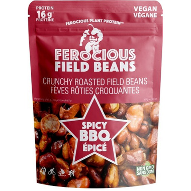 Ferocious Plant Protein Spicy BBQ Field Beans