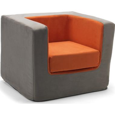 Monte Design Cubino Chair Charcoal & Orange