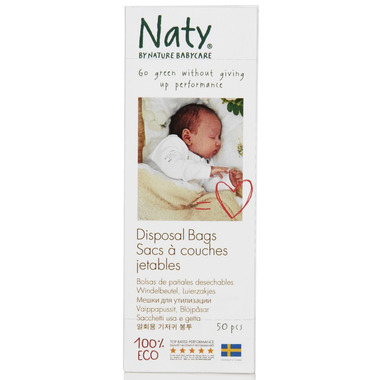 Naty by Nature Babycare Eco Disposable Bags