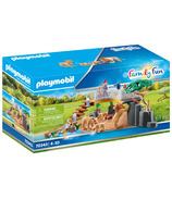 Playmobil Family Fun Outdoor Lion Enclosure
