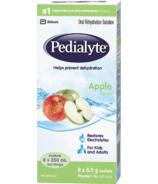 Pedialyte Electrolyte Powder Sticks Oral Rehydration Solution Apple