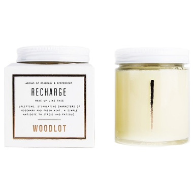 Woodlot Recharge Coconut Wax Candle