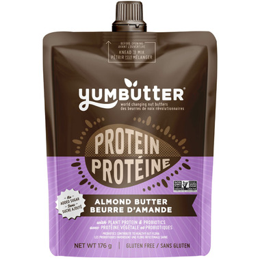 Yumbutter Protein Almond Butter with Probiotics
