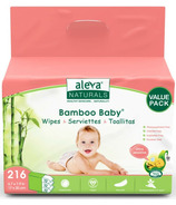 Aleva Naturals Bamboo Baby Wipes Ultra Sensitive Value Pack