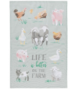 Now Designs Tea Towel Farmhouse