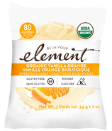 Element Snacks Organic Vanilla Orange Dipped Rice Cakes