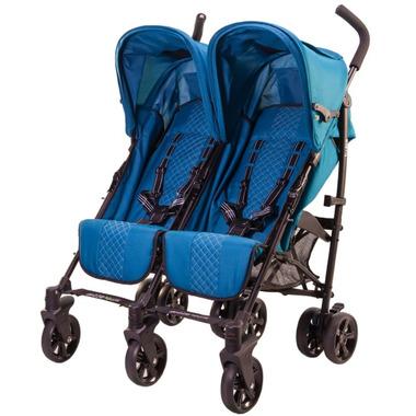 Guzzie & Guss Twice Double Umbrella Stroller Aqua