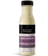 Maison Orphee Creamy 3 Peppercorn Vinaigrette Marinade