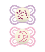 Mam Perfect Night Pacifier Pink 0-6 Months