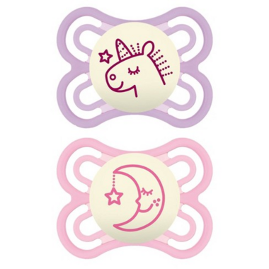 Mam Perfect Night Pacifier Pink 0-6 Months