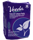 Veeda Natural Cotton Ultra-Thin Night Pads