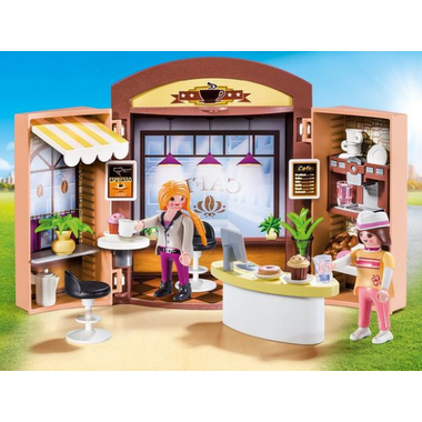 Playmobil Coffee Shop Play Box