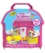 Crayola Scribble Scrubbie Pets Backyard Bungalow Playset