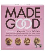 MadeGood Strawberry Organic Granola Minis Snack Packs