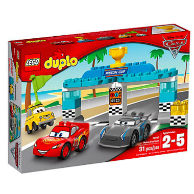 LEGO Duplo Race Lightening McQueen and Jackson Storm for the Piston Cup