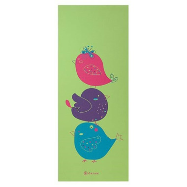 Gaiam Kids Printed Yoga Mat Birdsong