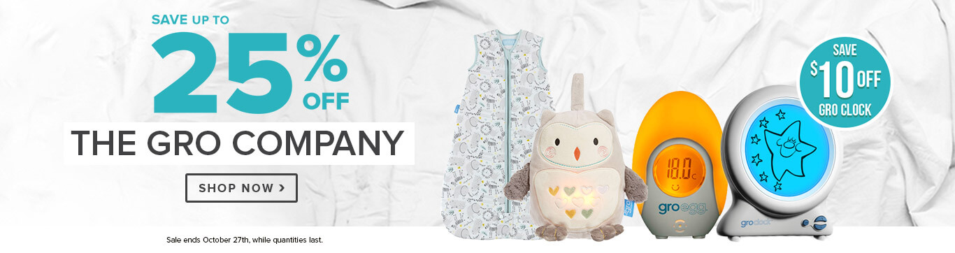 Save Up to 25% off The Gro Company