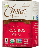 Choice Organic Teas Roobios Chai Tea