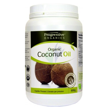 Progressive Organics Coconut Oil Unflavoured