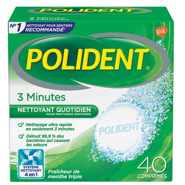 Polident 3 Minute Daily Denture Cleanser