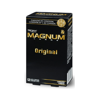 Trojan Magnum Original Lubricated Condoms