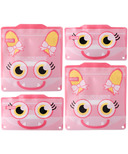 Russbe Reusable Snack and Sandwich Bags Pink Monster