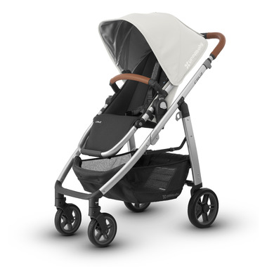 UPPAbaby Cruz Stroller Loic White Leather