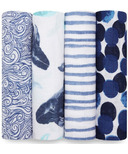 aden + anais Classic Swaddling Wraps Seafaring