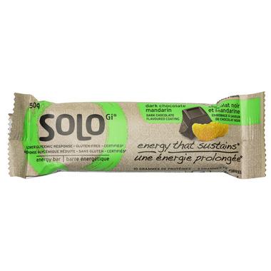 SoLo Gi Dark Chocolate Mandarin Energy Bars