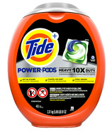 Tide POWER PODS Laundry Detergent Liquid Pacs 10X Heavy Duty