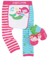 ZOOCCHINI Comfort Crawler Legging & Socks Set Marietta the Mermaid