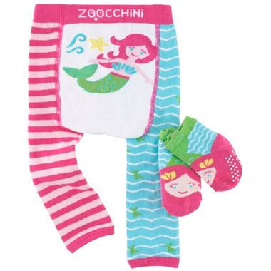 ZOOCCHINI Comfort Crawler Legging & Socks Set Marietta the Mermaid