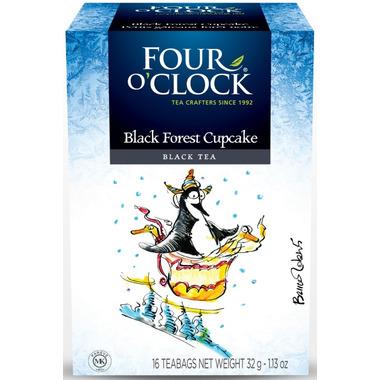 Four O\'Clock Black Forest Cupcake Tea