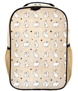 SoYoung Raw Linen Bunny Tile Grade School Backpack