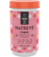 Natreve Vegan Protein Powder Strawberry Shortcake
