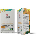 Genuine Tea Lemon Ginger Rooibos Tea